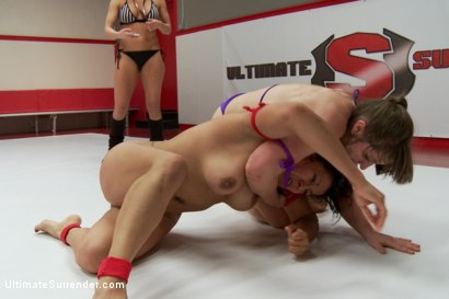 Photo number 2 from Elite Wrestler is Destroyed on the Mats, Utterly Humiliated shot for Ultimate Surrender on Kink.com. Featuring Mistress Kara and Izamar Gutierrez in hardcore BDSM & Fetish porn.
