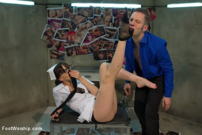 Photo number 3 from Foot Therapy Part 1 shot for Foot Worship on Kink.com. Featuring Dana DeArmond and Wolf Hudson in hardcore BDSM & Fetish porn.