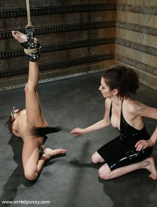 Photo number 8 from Nadia Styles and Princess Donna Dolore shot for Wired Pussy on Kink.com. Featuring Nadia Styles and Princess Donna Dolore in hardcore BDSM & Fetish porn.