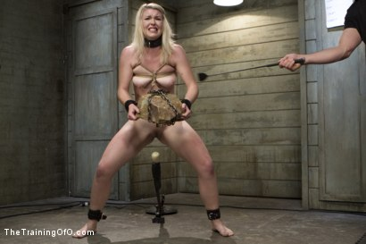 Photo number 6 from The Training of a Newbie Anal Slut, Day One shot for The Training Of O on Kink.com. Featuring Ella Nova  and Owen Gray in hardcore BDSM & Fetish porn.