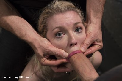 Photo number 9 from The Training of a Newbie Anal Slut, Day One shot for The Training Of O on Kink.com. Featuring Ella Nova  and Owen Gray in hardcore BDSM & Fetish porn.