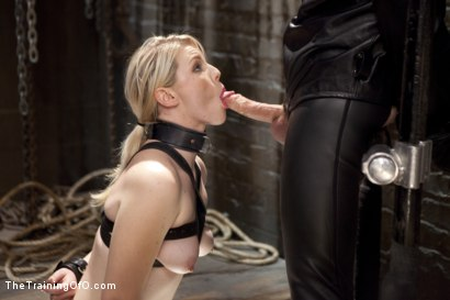 Photo number 6 from Balls Deep Anal Fuck Training, Day Two shot for The Training Of O on Kink.com. Featuring Ella Nova  and Wolf Hudson in hardcore BDSM & Fetish porn.