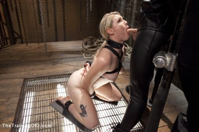 Photo number 5 from Balls Deep Anal Fuck Training, Day Two shot for The Training Of O on Kink.com. Featuring Ella Nova  and Wolf Hudson in hardcore BDSM & Fetish porn.