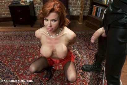 Photo number 1 from The Training of a Nympho Anal MILF, Day One shot for The Training Of O on Kink.com. Featuring Veronica Avluv and Owen Gray in hardcore BDSM & Fetish porn.
