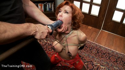 Photo number 2 from The Training of a Nympho Anal MILF, Day One shot for The Training Of O on Kink.com. Featuring Veronica Avluv and Owen Gray in hardcore BDSM & Fetish porn.