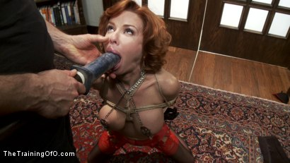 Photo number 14 from The Training of a Nympho Anal MILF, Day One shot for The Training Of O on Kink.com. Featuring Veronica Avluv and Owen Gray in hardcore BDSM & Fetish porn.