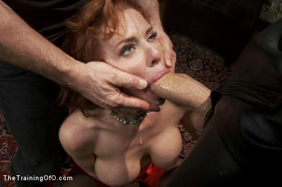 Photo number 4 from The Training of a Nympho Anal MILF, Day One shot for The Training Of O on Kink.com. Featuring Veronica Avluv and Owen Gray in hardcore BDSM & Fetish porn.