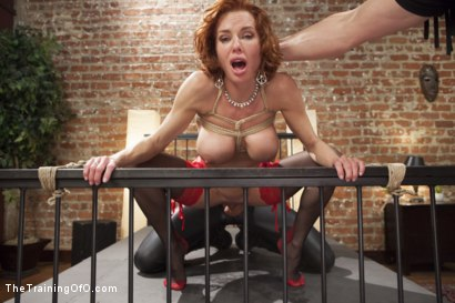 Photo number 11 from The Training of a Nympho Anal MILF, Day One shot for The Training Of O on Kink.com. Featuring Veronica Avluv and Owen Gray in hardcore BDSM & Fetish porn.