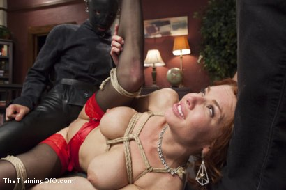 Photo number 5 from The Training of a Nympho Anal MILF, Day One shot for The Training Of O on Kink.com. Featuring Veronica Avluv and Owen Gray in hardcore BDSM & Fetish porn.