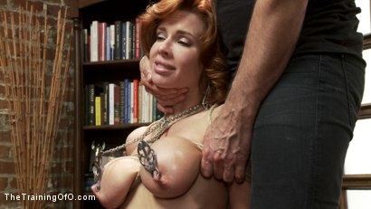 Photo number 15 from The Training of a Nympho Anal MILF, Day One shot for The Training Of O on Kink.com. Featuring Veronica Avluv and Owen Gray in hardcore BDSM & Fetish porn.