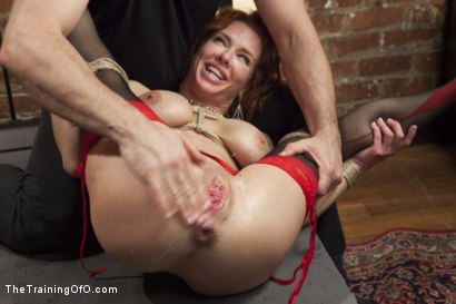 Photo number 8 from The Training of a Nympho Anal MILF, Day One shot for The Training Of O on Kink.com. Featuring Veronica Avluv and Owen Gray in hardcore BDSM & Fetish porn.