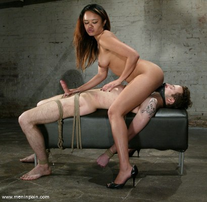 Photo number 10 from Annie Cruz and Elliot Skellington shot for Men In Pain on Kink.com. Featuring Annie Cruz and Elliot Skellington in hardcore BDSM & Fetish porn.