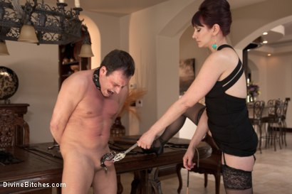 Photo number 1 from A Divine Vacation: FemDom Reality shot for Divine Bitches on Kink.com. Featuring Maitresse Madeline Marlowe  and Marcelo in hardcore BDSM & Fetish porn.