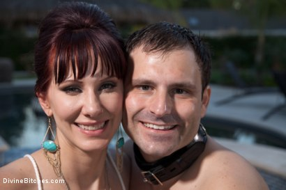 Photo number 10 from A Divine Vacation: FemDom Reality shot for Divine Bitches on Kink.com. Featuring Maitresse Madeline Marlowe and Marcelo in hardcore BDSM & Fetish porn.