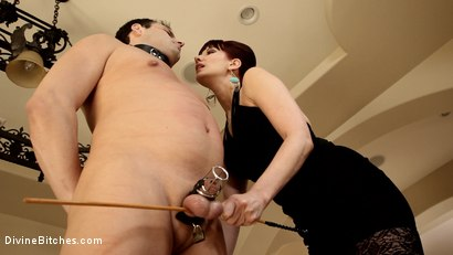 Photo number 9 from A Divine Vacation: FemDom Reality shot for Divine Bitches on Kink.com. Featuring Maitresse Madeline Marlowe and Marcelo in hardcore BDSM & Fetish porn.