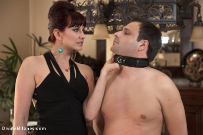 Photo number 14 from A Divine Vacation: FemDom Reality shot for Divine Bitches on Kink.com. Featuring Maitresse Madeline Marlowe and Marcelo in hardcore BDSM & Fetish porn.