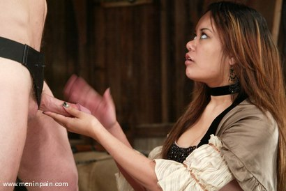 Photo number 4 from Annie Cruz and Gallant Reflex shot for Men In Pain on Kink.com. Featuring Annie Cruz and Gallant Reflex in hardcore BDSM & Fetish porn.