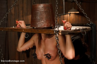 Photo number 15 from Feeling the Pain shot for Device Bondage on Kink.com. Featuring Rilynn Rae in hardcore BDSM & Fetish porn.