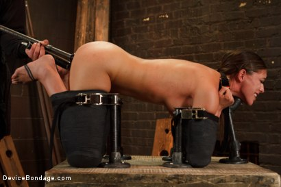 Photo number 3 from Feeling the Pain shot for Device Bondage on Kink.com. Featuring Rilynn Rae in hardcore BDSM & Fetish porn.