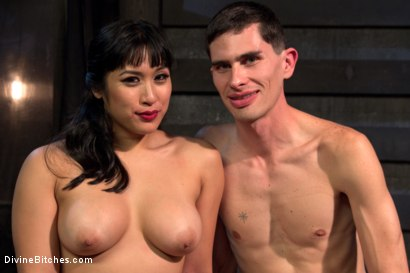 Photo number 7 from Cuckolding Brat Princess shot for Divine Bitches on Kink.com. Featuring Mia Li, Wolf Hudson and Sal Marquez in hardcore BDSM & Fetish porn.