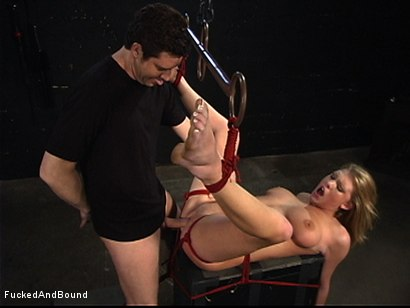 Photo number 11 from Inescapable Chains shot for  on Kink.com. Featuring Otto Bauer and Victoria Vonn in hardcore BDSM & Fetish porn.