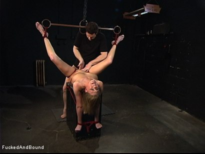 Photo number 13 from Inescapable Chains shot for  on Kink.com. Featuring Otto Bauer and Victoria Vonn in hardcore BDSM & Fetish porn.