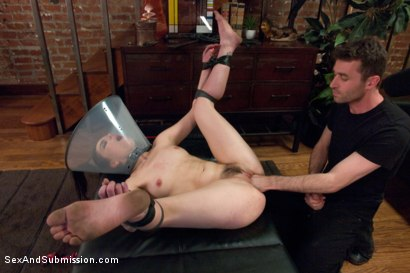 Photo number 11 from The Kennels shot for Sex And Submission on Kink.com. Featuring James Deen, Juliette March, Daisy Ducati and Bella Rossi in hardcore BDSM & Fetish porn.
