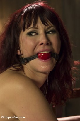 Photo number 14 from Retribution: Maitresse Madeline taken down, dominated and anally fucked by Nina Hartley! shot for Whipped Ass on Kink.com. Featuring Maitresse Madeline Marlowe  and Nina Hartley in hardcore BDSM & Fetish porn.