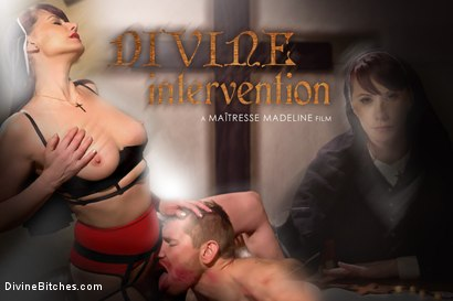 Photo number 10 from Divine Intervention: A Divine Bitches feature presentation with taboo, punishment and milking! shot for Divine Bitches on Kink.com. Featuring Maitresse Madeline Marlowe  and Alex Adams in hardcore BDSM & Fetish porn.