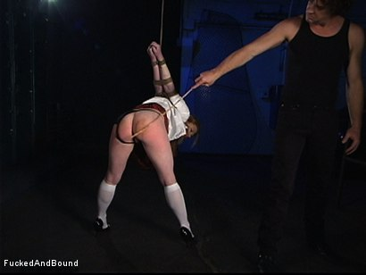 Photo number 3 from Madison Craves Hard Punishment shot for  on Kink.com. Featuring Otto Bauer and Madison Young in hardcore BDSM & Fetish porn.