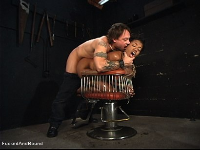 Photo number 7 from The Ass Working shot for Brutal Sessions on Kink.com. Featuring Kurt Lockwood and Sydnee Capri in hardcore BDSM & Fetish porn.
