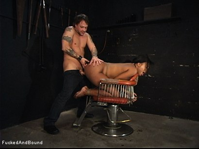 Photo number 8 from The Ass Working shot for Brutal Sessions on Kink.com. Featuring Kurt Lockwood and Sydnee Capri in hardcore BDSM & Fetish porn.