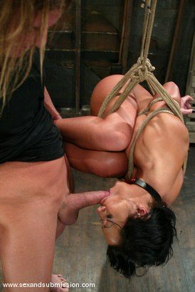 Photo number 7 from Sandra Romain and Evan Stone shot for Sex And Submission on Kink.com. Featuring Evan Stone and Sandra Romain in hardcore BDSM & Fetish porn.