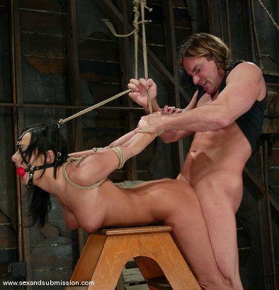 Photo number 13 from Sandra Romain and Evan Stone shot for Sex And Submission on Kink.com. Featuring Evan Stone and Sandra Romain in hardcore BDSM & Fetish porn.