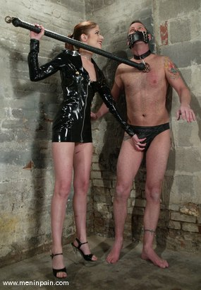 Photo number 1 from Alice Sadique and Rox shot for Men In Pain on Kink.com. Featuring Alice Sadique and Rox in hardcore BDSM & Fetish porn.