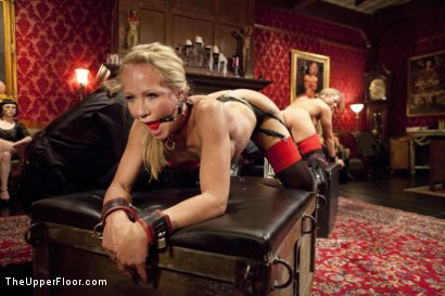 Photo number 2 from Kinky MILF Sex Slaves Service Hot Stud Dick shot for The Upper Floor on Kink.com. Featuring Wolf Hudson, Holly Heart and Simone Sonay in hardcore BDSM & Fetish porn.