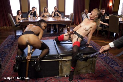 Photo number 2 from Slave Orgasm Overload shot for The Upper Floor on Kink.com. Featuring Marie Luv and Mona Wales in hardcore BDSM & Fetish porn.
