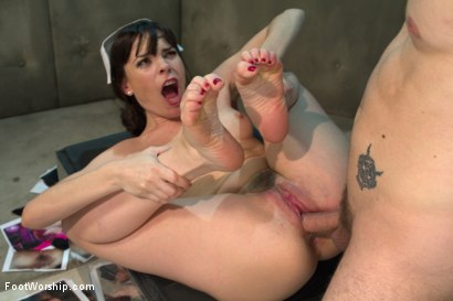 Photo number 5 from Foot Therapy Part 2 with Dana DeArmond! shot for Foot Worship on Kink.com. Featuring Dana DeArmond and Wolf Hudson in hardcore BDSM & Fetish porn.