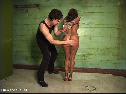 Photo number 2 from A Willing Bondage Sex Slave shot for  on Kink.com. Featuring Otto Bauer and Sinnamon Love in hardcore BDSM & Fetish porn.