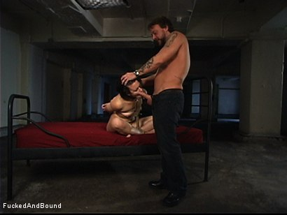 Photo number 11 from First Ever On-Camera Fucking shot for  on Kink.com. Featuring Penny Barber and Kurt Lockwood in hardcore BDSM & Fetish porn.