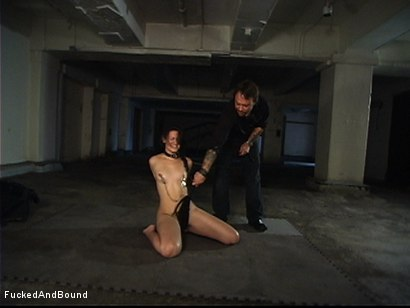 Photo number 4 from First Ever On-Camera Fucking shot for  on Kink.com. Featuring Penny Barber and Kurt Lockwood in hardcore BDSM & Fetish porn.