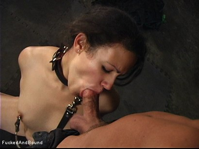 Photo number 6 from First Ever On-Camera Fucking shot for  on Kink.com. Featuring Penny Barber and Kurt Lockwood in hardcore BDSM & Fetish porn.