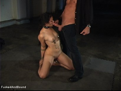 Photo number 8 from First Ever On-Camera Fucking shot for  on Kink.com. Featuring Penny Barber and Kurt Lockwood in hardcore BDSM & Fetish porn.