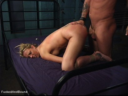 Photo number 11 from Initiation Of A Slave shot for  on Kink.com. Featuring Bree Barrett and Kurt Lockwood in hardcore BDSM & Fetish porn.