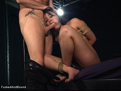 Photo number 9 from The Bitch In The Sack shot for  on Kink.com. Featuring Annie Cruz and Otto Bauer in hardcore BDSM & Fetish porn.