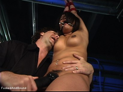 Photo number 3 from The Bitch In The Sack shot for  on Kink.com. Featuring Annie Cruz and Otto Bauer in hardcore BDSM & Fetish porn.