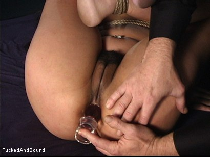 Photo number 4 from The Bitch In The Sack shot for  on Kink.com. Featuring Annie Cruz and Otto Bauer in hardcore BDSM & Fetish porn.