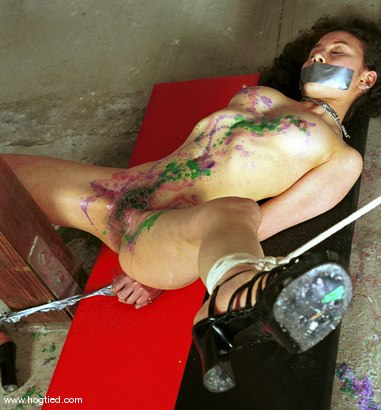 Photo number 5 from Shikira shot for Hogtied on Kink.com. Featuring Shikira in hardcore BDSM & Fetish porn.