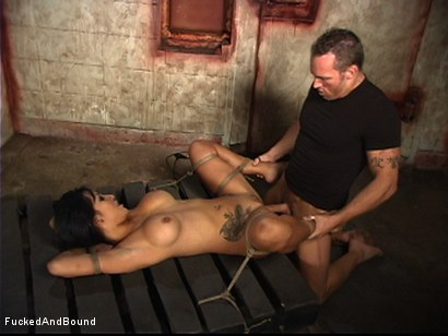 Photo number 12 from Spread Wide By Unforgiving Bondage shot for  on Kink.com. Featuring Marcus London and Gianna Lynn in hardcore BDSM & Fetish porn.