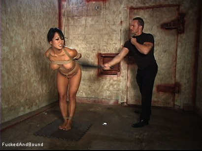 Photo number 5 from Spread Wide By Unforgiving Bondage shot for  on Kink.com. Featuring Marcus London and Gianna Lynn in hardcore BDSM & Fetish porn.